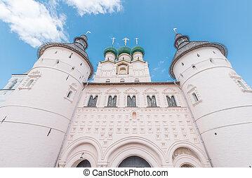 Entrance to the Kremlin.