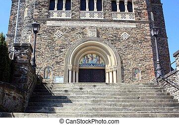 Entrance to the Parish Church