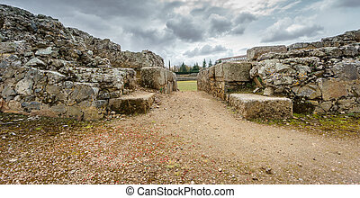 Entrance to the ruins of the Roman circus