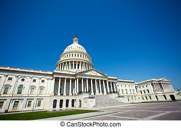 Entrance to The United States Capitol Building