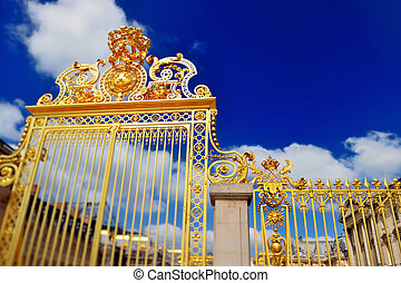 Entrance to Versailles