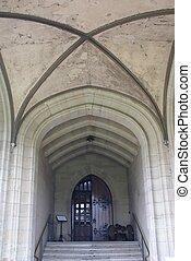 Entrance, Warwick Castle, England