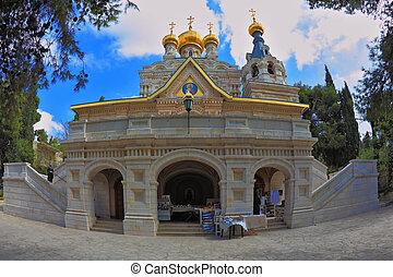 Entrances to the church
