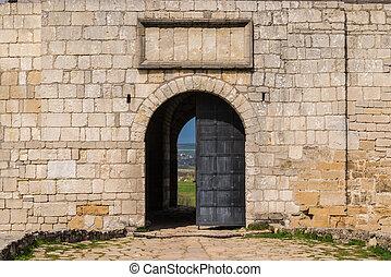 entrata, castello