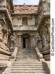 entrata, gangaikunda, karpa, temple., graham, sud