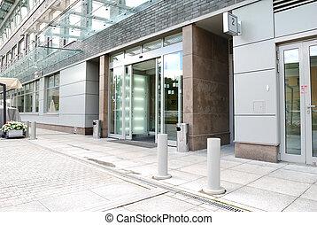 entrata, moderno, ufficio