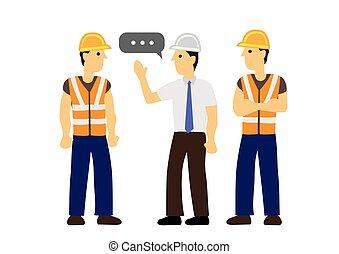 entre, communication., concept, conversation, construction,...