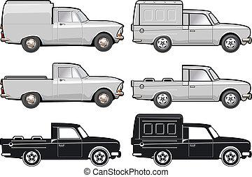 entrega, carga, modificações, /, car