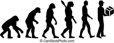 entrega, evolução, homem