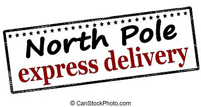 entrega, poste, expreso, norte