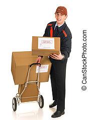 entrega, serviço postal