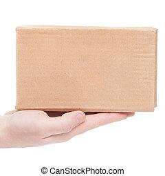 entregar, seen), (only, paquete, uno, mano, cliente