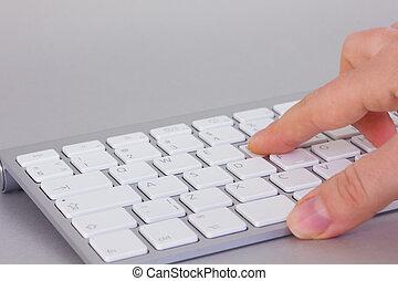 entregue, teclado