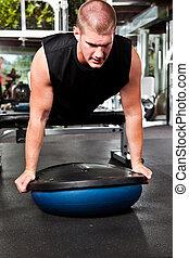 entrenamiento, atleta