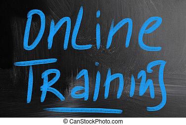 entrenamiento, en línea
