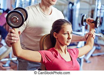 entrenamiento, físico