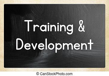 entrenamiento, y, desarrollo, concepto