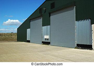 entrepôt, agricole
