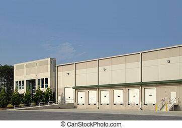 entrepôt, commercial