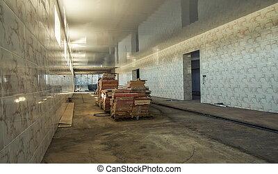 entrepôt, construction