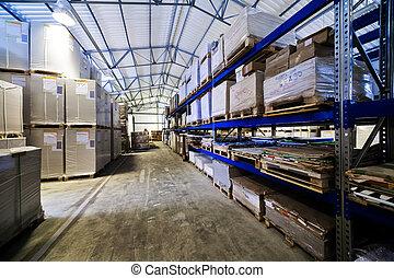 entrepôt, moderne