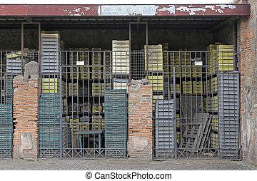 entrepôt, pompei