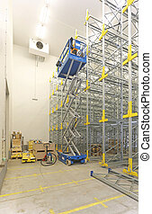 entrepôt, site construction