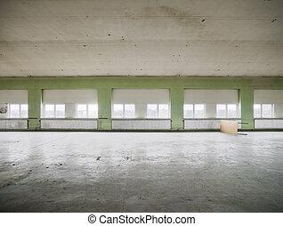 entrepôt, vide