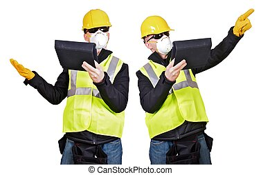 entrepreneur, à, tablette