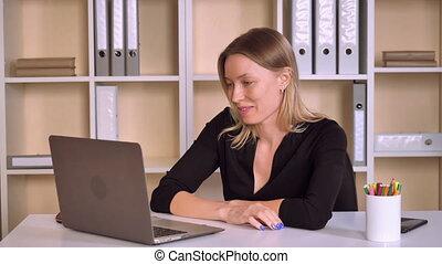 entrepreneur has remote negotiations HD video prores