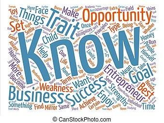 entrepreneur I Word Cloud Concept Text Background