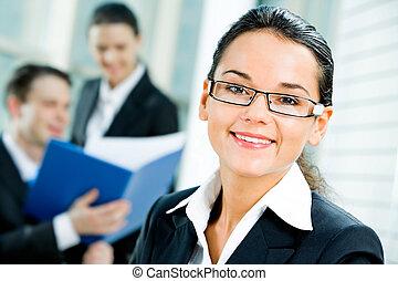Entrepreneur - Portrait of successful entrepreneur with...