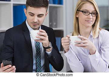 Entrepreneurs at work