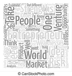 Entrepreneurs ll text background word cloud concept