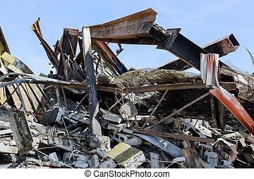 entreprises, george, protestation, pendant, magasins, minneapolis, beaucoup, détruit, brûlé, émeutes, police, protests, fueled, mort, sous, floyd