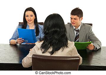 entrevista, pessoas