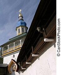 Pechorsky priory - Entry on territory Pechorsky priory. ...