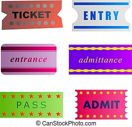 entry tickets - tickets collection
