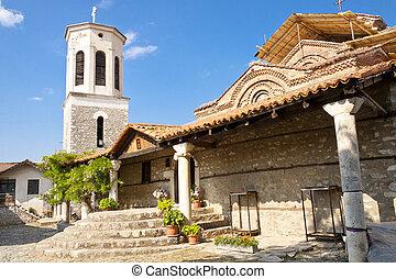 Entry to Bogorodica church - Entry to Sv. Bogorodica church ...