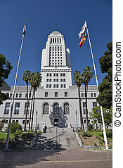 Entry to Los Angeles City Hall