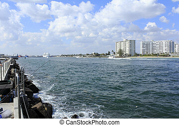 Entry to Port Everglades