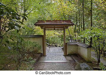 Entryway at Japanese Garden