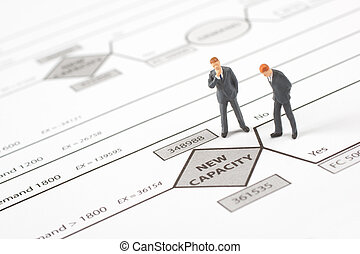 entscheidung, baum, (management)