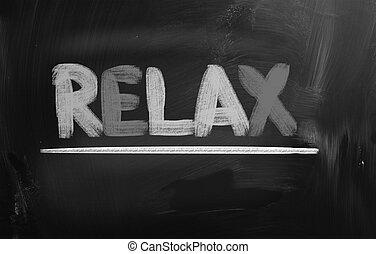 entspannen, begriff