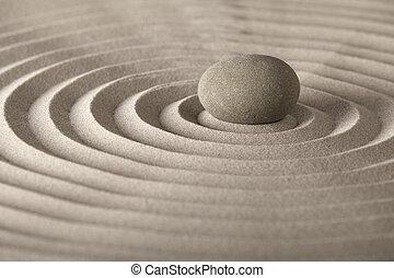 entspannung, stein