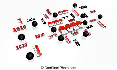 entwürfe, lose, 2020, pelote, pala, kugeln, mehrere