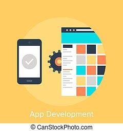 entwicklung, app