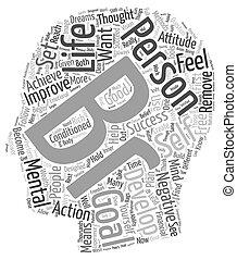 entwicklung, leben, satz, wollen, gelingen, persönlich, text, wordcloud, begriff, ziele, hintergrund, sie, ob, muss