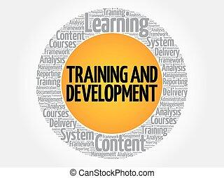 entwicklung, training, kreis