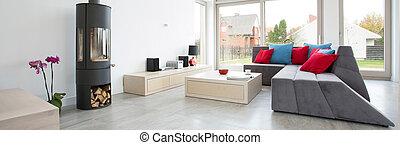 entworfen, wohnzimmer